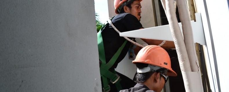 Instalasi AC Split Permata Senayan